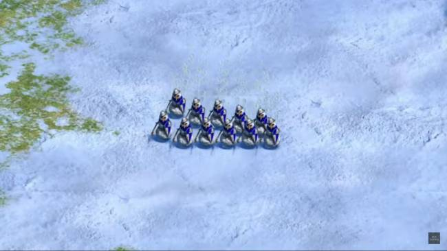 Age of Empires 2's snowmen-at-arms give a very different meaning to festive cheer