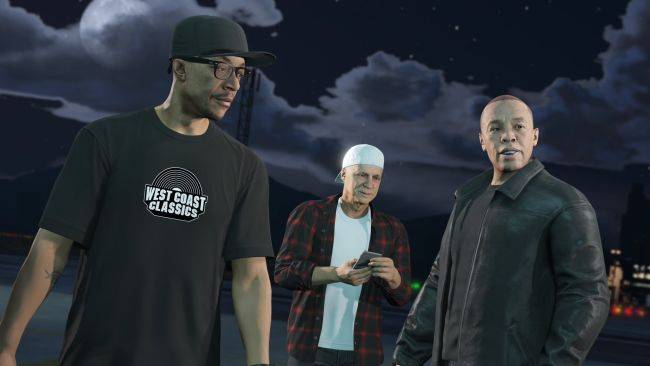 GTA Online did not forget about Dre