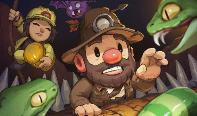 Spelunky 2 online multiplayer is now live on PC