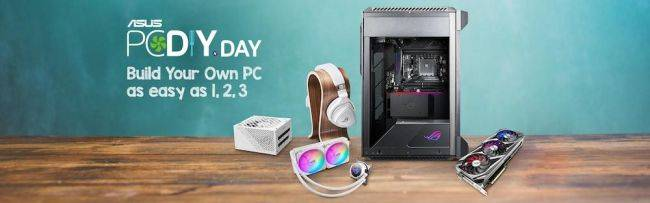 ASUS PC DIY Day recap: Stay tuned for the latest PC DIY tips from ASUS and enter into these ongoing giveaways and contests