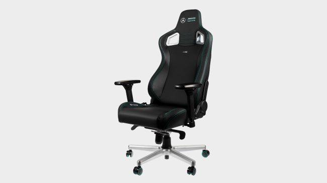 This Mercedes F1 gaming chair can justify that racing seat aesthetic