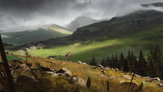 80 Days studio inkle is working on a gorgeous game about hiking in the Scottish Highlands