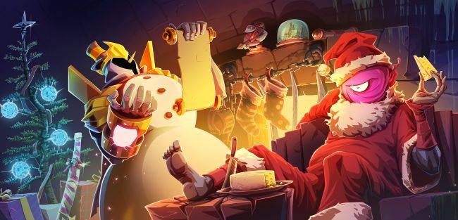Dead Cells' latest update includes Christmas outfits, turns all food into cheese