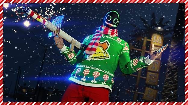 GTA and Red Dead Online players get guns and sweaters for Christmas