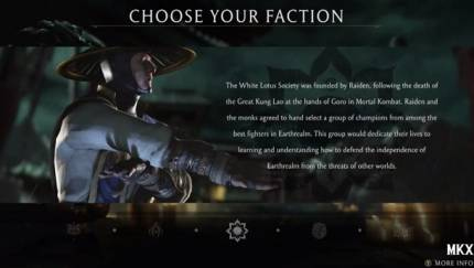 Everything You Do In Mortal Kombat X Will Be Part Of Weekly Faction Wars