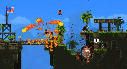 Broforce Flexes Onto PS+ For Free In March