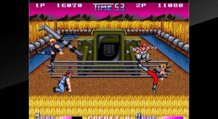 Double Dragon II: The Revenge Kicks its Way to PS4