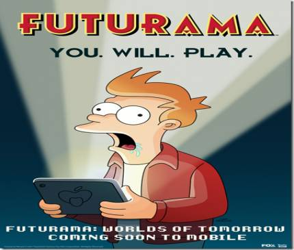 Futurama: Worlds of Tomorrow Blasts Off To Mobile Devices Soon