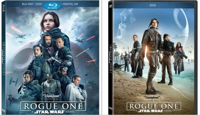 Star Wars: Rogue One's Digital And Blu-ray/DVD Release Dates Announced, Bonus Features Revealed