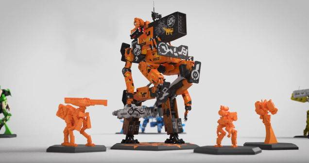 Giant Robot Board Game Looks Fantastic