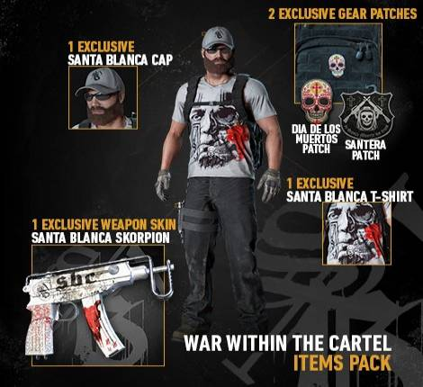 Twitch Prime subs get this exclusive and badass Ghost Recon: Wildlands skins pack