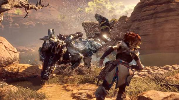 Two New Videos Show Off Horizon Zero Dawn's Fearsome Machines