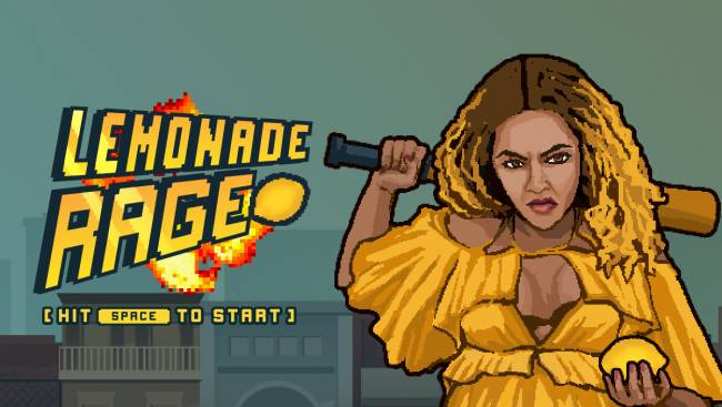 Dodge Beyoncé's haterz the 8-bit game 'Lemonade Rage'