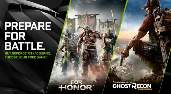 Prepare for Battle with GeForce, For Honor and Ghost Recon Wildlands