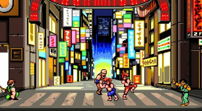 Double Dragon IV Co-Op Review