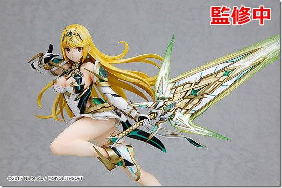 Xenoblade Chronicles 2's Mythra Figure Is The Yin To The Pyra's Yang