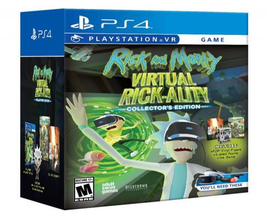 Rick and Morty: Virtual Rick-ality heads to PSVR this spring