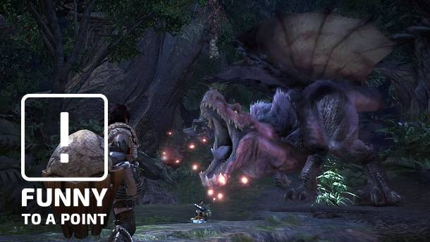 Funny To A Point – 10 Reasons I'm Loving Monster Hunter: World