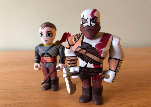 Get A Close Look At Kidrobot's New God Of War Vinyl Mini-Figures