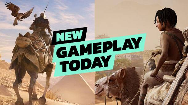 New Gameplay Today – Assassin's Creed Origins' Discovery Tour