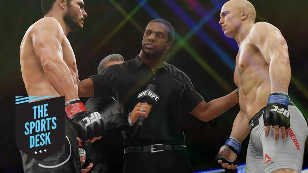 The Sports Desk – The Fighters UFC 3 Needs To Add