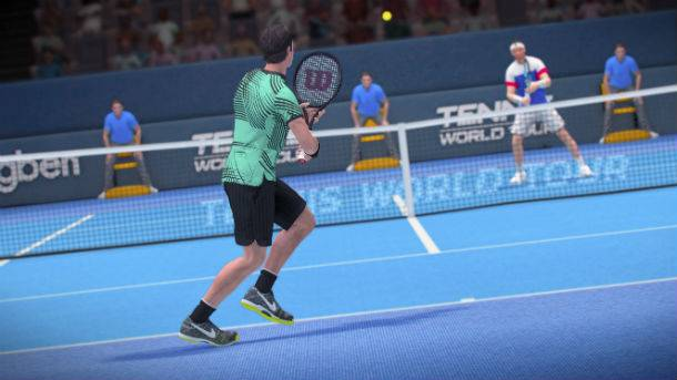 Taking To The Court With Tennis World Tour