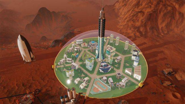Colony management sim Surviving Mars will arrive in March with full mod support