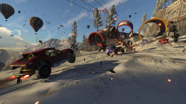 Onrush, a racer by former Motorstorm and Driveclub devs, will come to PC