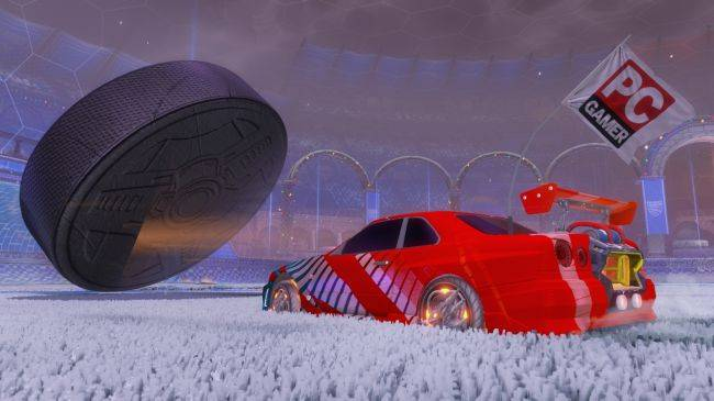 Rocket League may get competitive Snow Day and Hoops