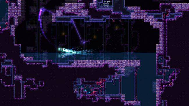 Grappling hook platformer Remnants of Naezith is out now