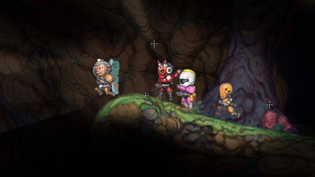Space Metroidvania Planetoid Pioneers blasts out of Early Access