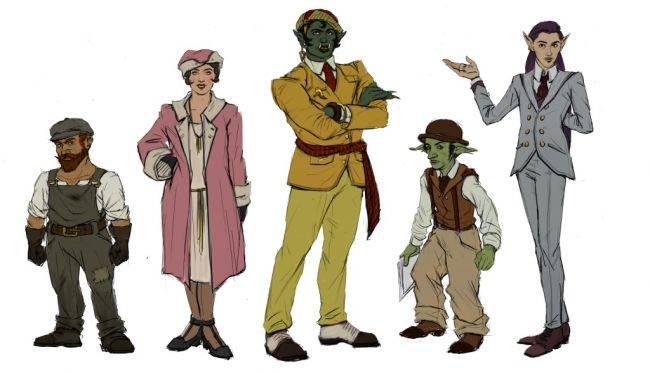 Pendula Swing is an adventure game set in a fantasy version of the Roaring '20s