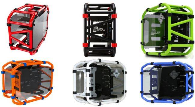 In Win's open air D-Frame Mini returns with a new color options