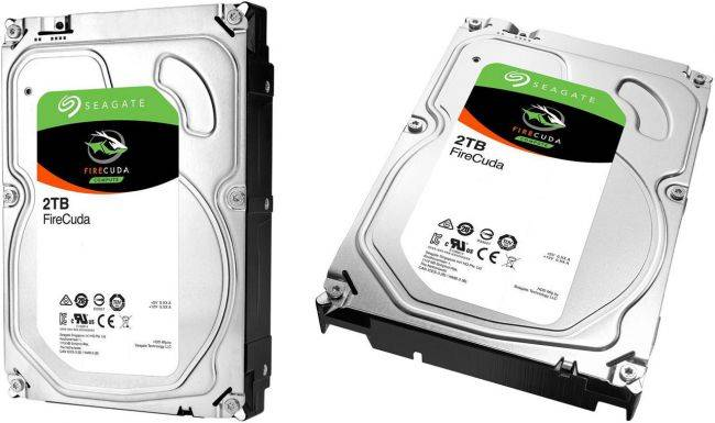 Seagate's 2TB FireCuda solid state hybrid drive is on sale for $85