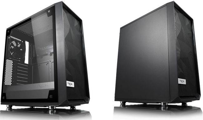 Fractal Design adds more side panel options to its Meshiy C mid-tower case