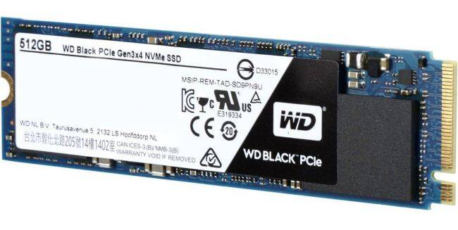 Western Digital's Black 512GB NVMe SSD drops to a low $163