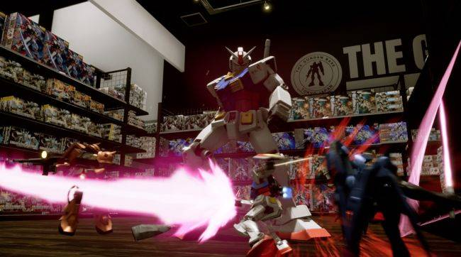 Looks like New Gundam Breaker is coming to PC