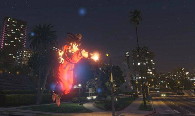 GTA 5 Dragon Ball script mod adds teleportation, Ki Blasts, Destructo Disc attacks (Updated)