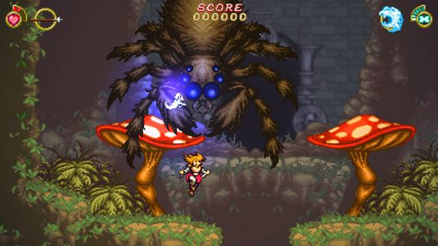 Fight giant boars, spiders, crabs, evil trees in Battle Princess Madelyn boss montage