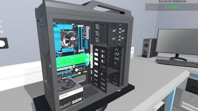 PC Building Simulator hits early access next month, here's how it plays
