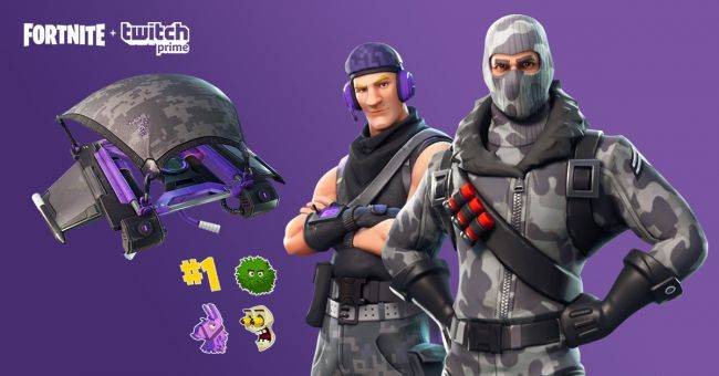 Twitch Prime subscribers now get exclusive Fortnite cosmetics, heroes