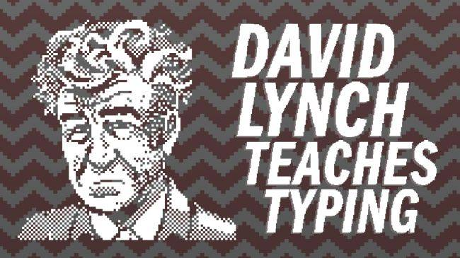 David Lynch Teaches Typing is exactly what it sounds like