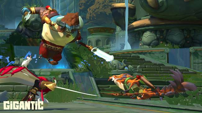 Third-person MOBA 'Gigantic' to close on July 31st