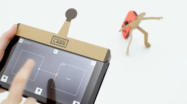 Nintendo Labo gadgets can be remixed with 'Toy-Con Garage'