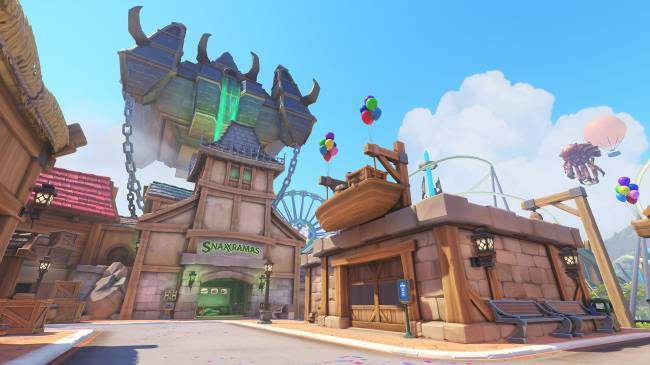 Here's what it would take to make Overwatch's 'Blizzard World' IRL
