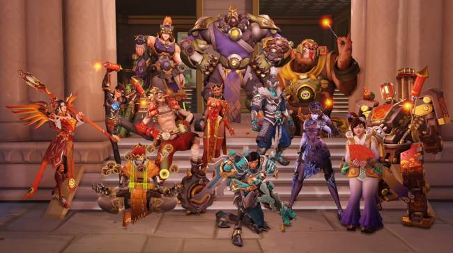 'Overwatch's new Capture The Flag map and competitive mode is live