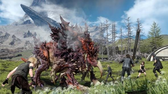 Cactaurs invade Final Fantasy XV's Windows Edition (and check out these new trailers, too)