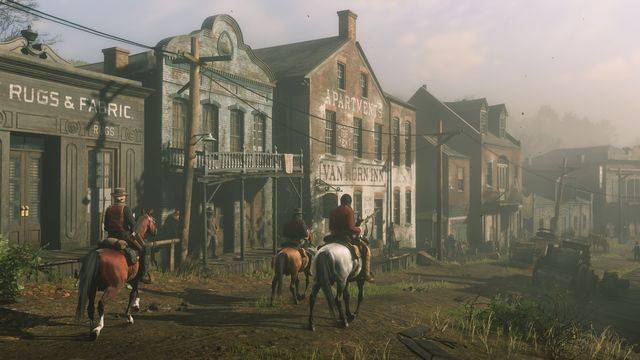 Red Dead Online's animals and NPCs are missing on Xbox One