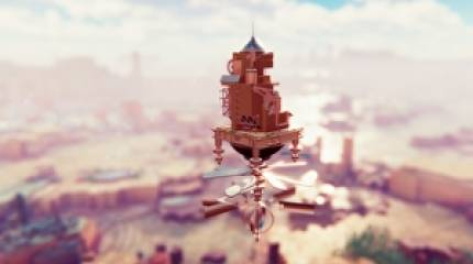 Airborne Kingdom is a floating city builder that looks like the intro to Game of Thrones