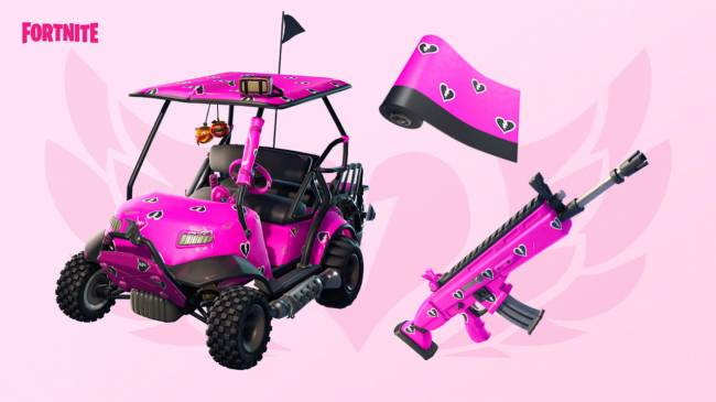Fortnite Valentine's Event Announced, Features New Challenges, Rewards, And More